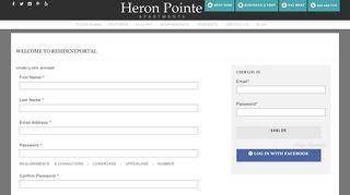 Heron Pointe Resident Portal