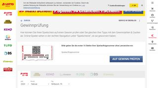 Hessen Lotto Service Portal