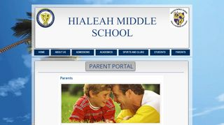 Hialeah Middle School Student Portal