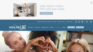 Highland Lake Apartments Resident Portal