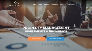 Hill Properties Portal
