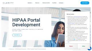 Hipaa Compliant Patient Portal