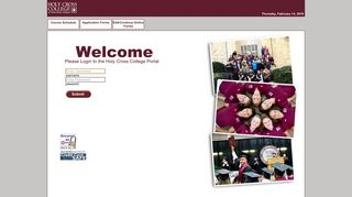 Holy Cross College Portal