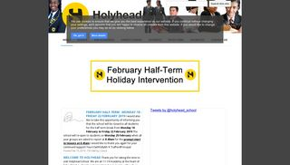 Holyhead School Student Portal