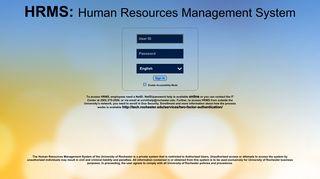 Hrms Web Portal