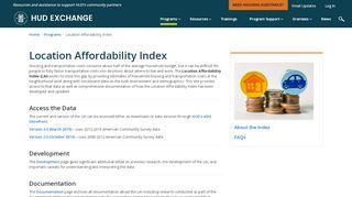 Hud Location Affordability Portal