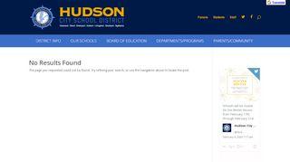 Hudson Csd Student Portal
