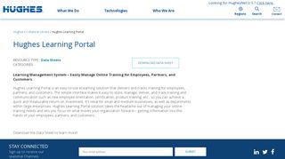 Hughes Learning Portal