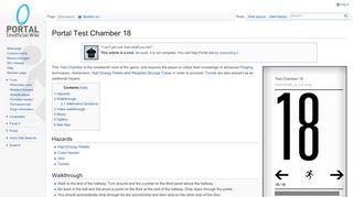 Iam3z Portal Chamber 18