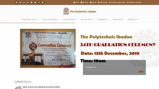 Ibadan Poly Portal 2018