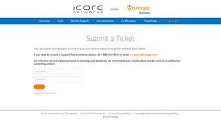 Icore Web Portal