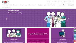 Iehp Provider Portal