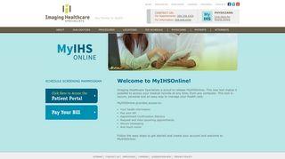 Imaging Healthcare Patient Portal