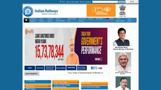Indian Railway Web Portal