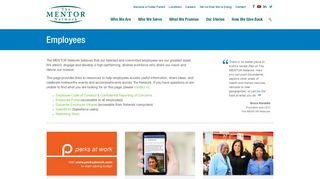 Indiana Mentor Employee Portal