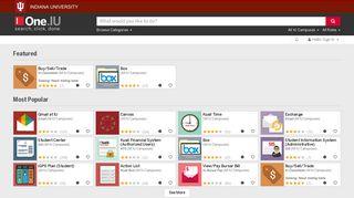 Indiana University Portal