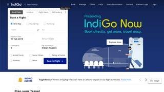 Indigo Web Portal