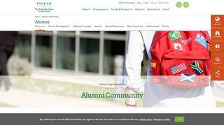 Insead Alumni Portal