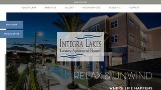 Integra Lakes Resident Portal