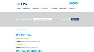Ipa Online Portal
