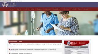 Ium Portal Online