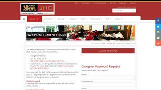 James Hargest Web Portal