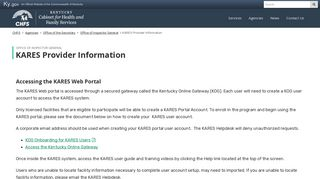 Kares Web Portal