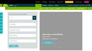 Kcb Web Portal