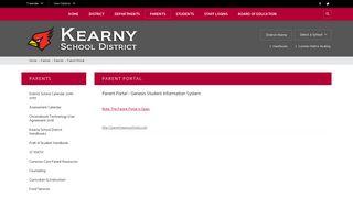 Kearny Parent Portal