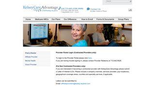 Kelseycare Advantage Provider Portal - Find Official Portal