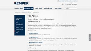 Kemper Home Service Web Portal