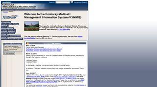 Kentucky Medicaid Provider Portal