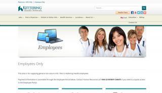 Kettering Health Network Employee Portal