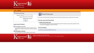 Kingswood School Bath Parent Portal