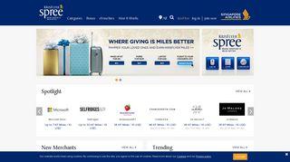 Krisflyer Shopping Portal