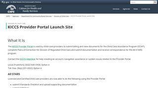 Ky Provider Portal