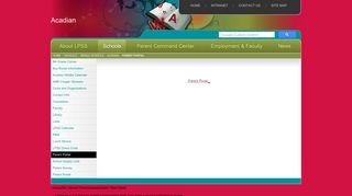 Lafayette Parish Parent Portal