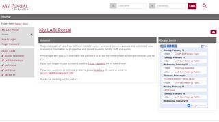 Lake Area Tech Portal