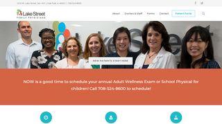 Lake Street Family Physicians Portal
