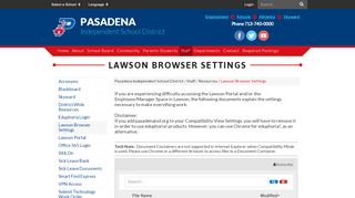 Lawson Portal Pasadena Isd