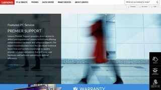 Lenovo Warranty Claim Portal
