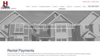 Letts Property Management Tenant Portal