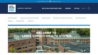 Lewis County General Hospital Patient Portal