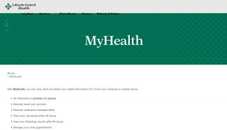 Lgmc Lafayette La Patient Portal