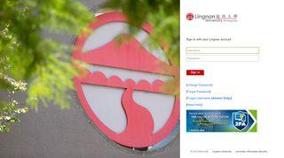 Lingnan University Portal