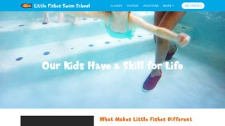 Little Fishes Swim School Parent Portal