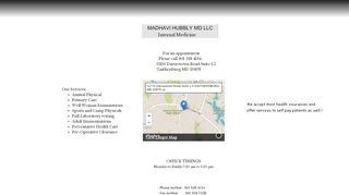 Madhavi Hubbly Patient Portal