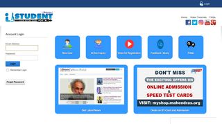 Mahendra Online Test Portal