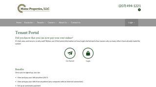 Maine Properties Portal