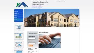 Marmike Property Tenant Portal